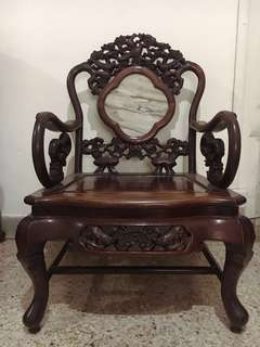 China Antique Rosewood Settee