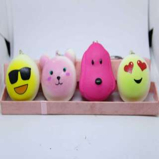 Squishy toy set of 4