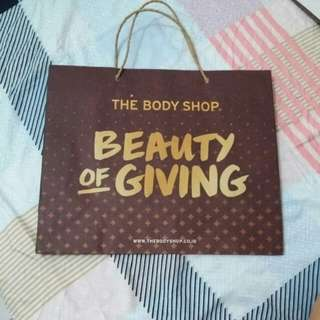 Paperbag the body shop