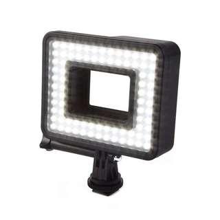 LD1041 - 80 LED面板可充電的視頻照明與獨腳架(不包相機)只有一個