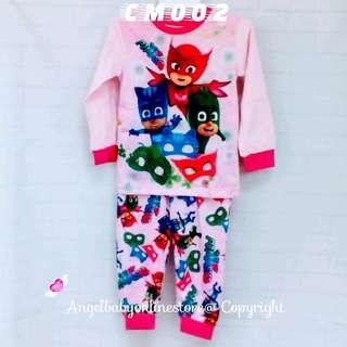(Nett Price) PJ Masks Pink Sleepwear CM002