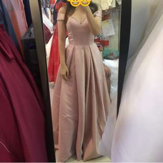 Long Gown (NUDE PINK)