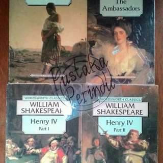 [KOMBO] WILLIAM SHAKESPEARE, JOSEPH CONRAD & HENRY JAMES - Wordsworth Classics