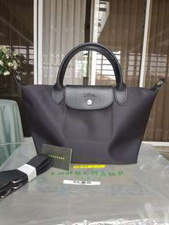 Authentic Longchamp Le Pliage Neo in Black (Brand New)