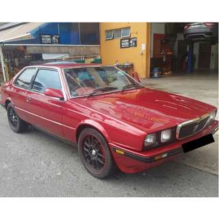 CAR FOR SALE - Maserati Biturbo