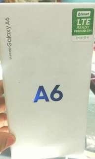 Samsung galaxy A6 brandnew sealed openline