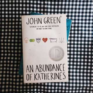 An Abundance of Katherines (by John Green)