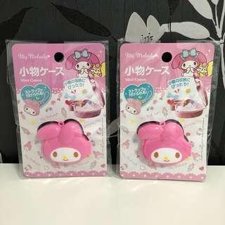 🚚 現貨~日本帶回 mymelody 美樂蒂 收納盒 置物盒 小女孩的百寶箱 女童必備