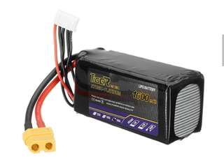 4🔥💥Last set💥Newest Tiger Power 14.8V 1600mAh 60C 4S Lipo Battery XT60 Plug for RC Toys Cars Helicopters Drones Quadcopter Rechargeable Parts