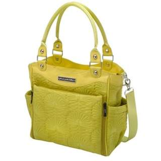 Petunia Pickle Bottom - Union Square Stop City Carryall (Citrus Green): Stylish Baby Bags