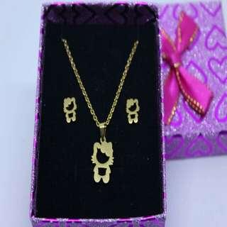 Hello kitty Jewelry Set
