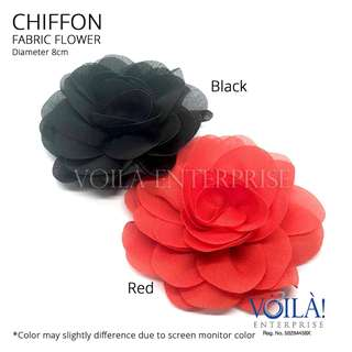 🚚 Fabric Flower - Big Chiffon