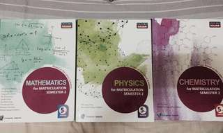 MATRICULATION BOOKS SEM 2
