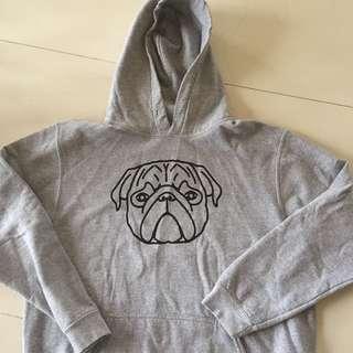 Pug Oversized Hoodie