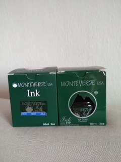 Monteverde fountain pen ink brand new