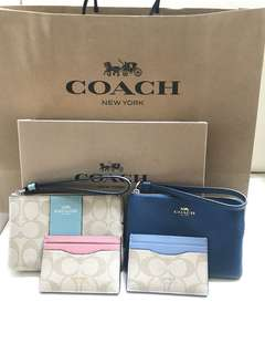 Coach card case 卡片套