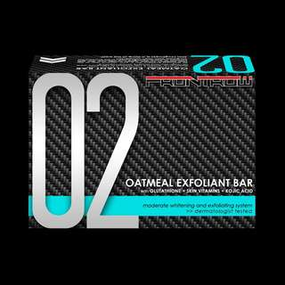02 OATMEAL EXFOLIANT BAR with GLUTATHIONE + OATMEAL + KOJIC ACID