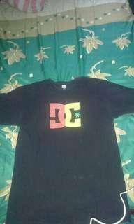 "Tshirt DC Skateboarding Black ""Reggae"""
