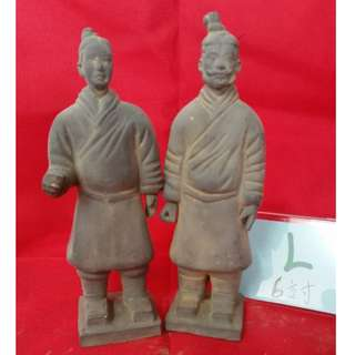 Clay Chinese Men Ornaments