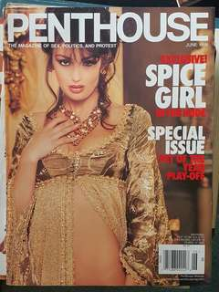 June 1998 Penthouse edition with Geri Hariwell of Spicegirls