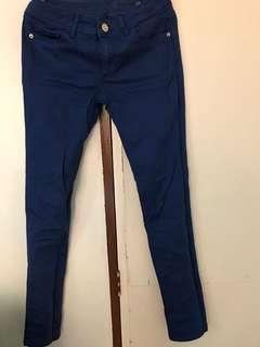Zara Mid Rise Skinny Fit Jeans