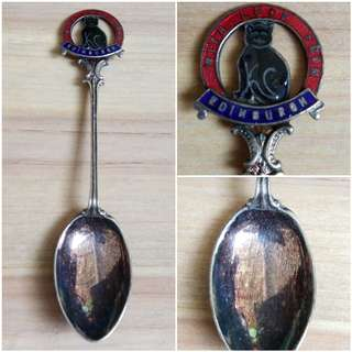 England souvenir tea spoon