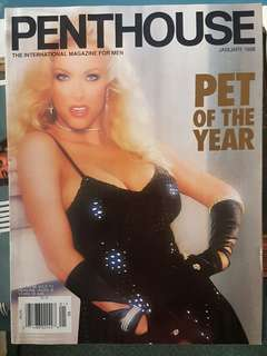 1998 Penthouse Magazine edition