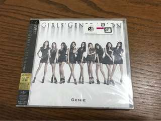 Girls Generation Genie Japanese Ver. Single