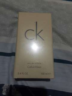 Authentic Calvin klein perfume