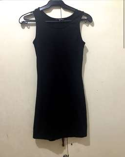 Bershka fitted dress