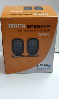 迷你hifi喇叭 mini speaker multimedia hi-fi system