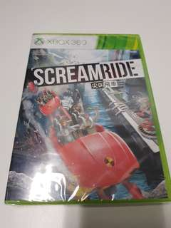 Scream Ride -XBOX360 (NTSC)