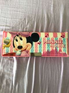 Minnie Mouse Pink Double Sided Pencil Case
