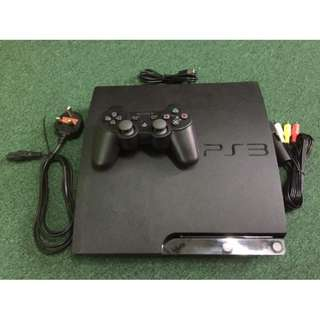PlayStation 3 PS3 Console Slim 250GB - Black