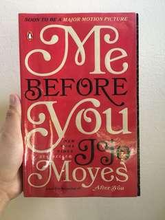 Me Before You by Jojo Moyes (Original Book Cover)