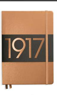 COPPER leuchtturm1917 A5 dotted bujo limited edition