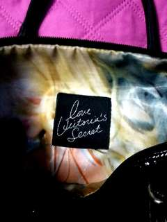 Repriced Victorias Secret Authentic Black Bag