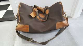 Lancel Browni Cloth Travel Bag