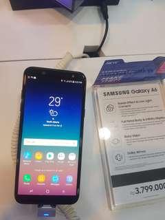 Samsung Galaxy A6 Promo Bunga 0,99%