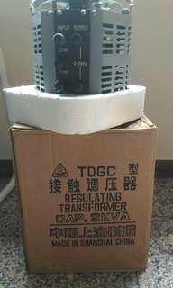 TDGC Regulating Transformer 3 KVA 50/60 Hz and 2 KVA 50/60 HZ
