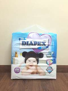 Diapex Easy Pampers (L Size)