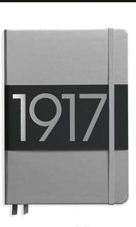 SILVER Leuchtturm1917 A5 dotted bujo limited edition