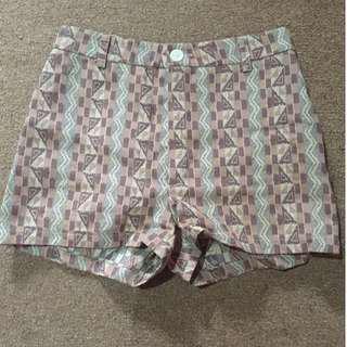 Celana Vintage High Waist short