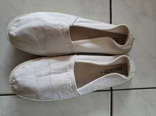 H&M slip on white