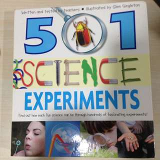501 Science Experiments