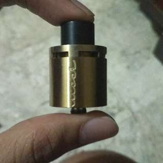 Rda vape Moose 24mm gold
