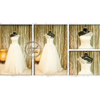 WEDDING GOWN #2 REPRICED!!!