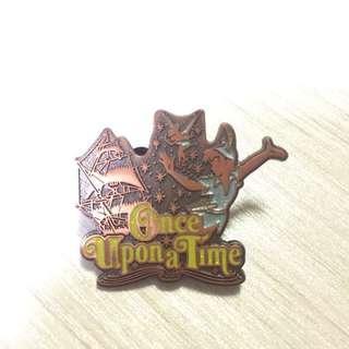 迪士尼 Disney Pin 小飛俠 Peter Pan 襟章 徽章