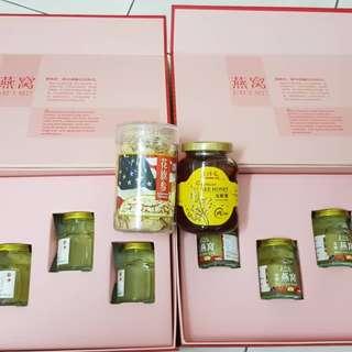 Lo Hong Ka (Birds Nest) , Ginseng , Longan Bee Honey
