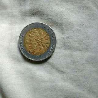 Uang 1000 tahun 1996 kelapa sawit